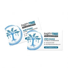 Partytree Business Cards